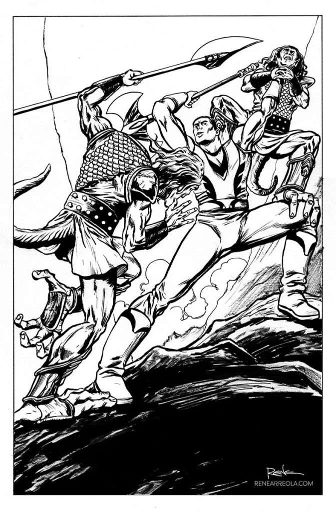 Axe-01_pg-01-INKS-fantasy-art-comic