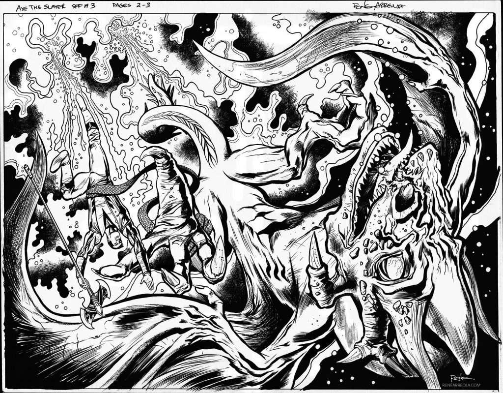Axe_3_02-03-INKS-fantasy-art-comic
