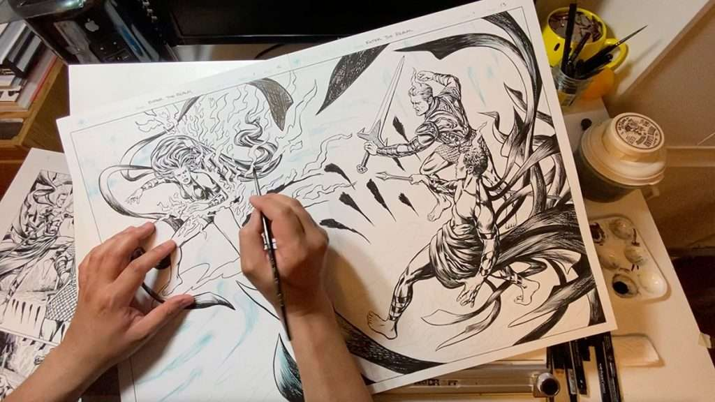 Enter-the-Realm-inking