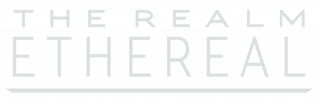 Realm Ethereal logo white 2019