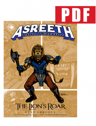 Asreeth-Lion-Warrior-The-Lions-Roar-Digital-Edition-PRODUCT-COVER