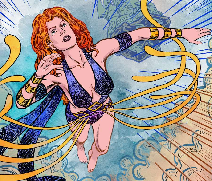 Casia soaring - fantasy comic