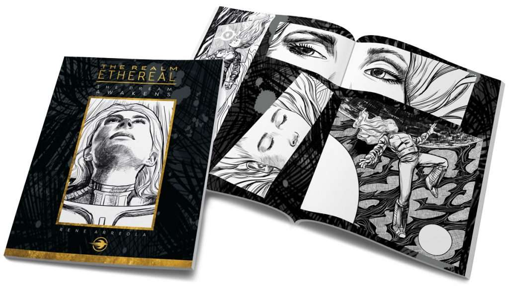 The Dream Awakens Art Book Edition by Rene Arreola