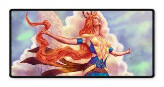 Casia Transformation fantasy art gamer mousepad 16x35