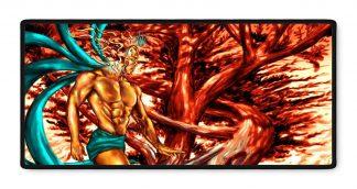 Gaius Ethereal fantasy art gamer mousepad 16x35