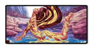 Lysandra Ethereal fantasy art gamer mousepad 16x35
